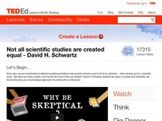 Not all Scientific Studies are Created Equal Video