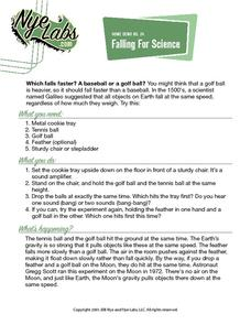 Falling For Science Activities & Project