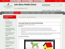 Learning Target G4: Selective Breeding Video