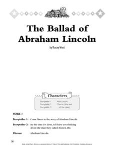 The Ballad of Abraham Lincoln Activities & Project