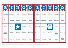 United States of Bingo Printables & Template