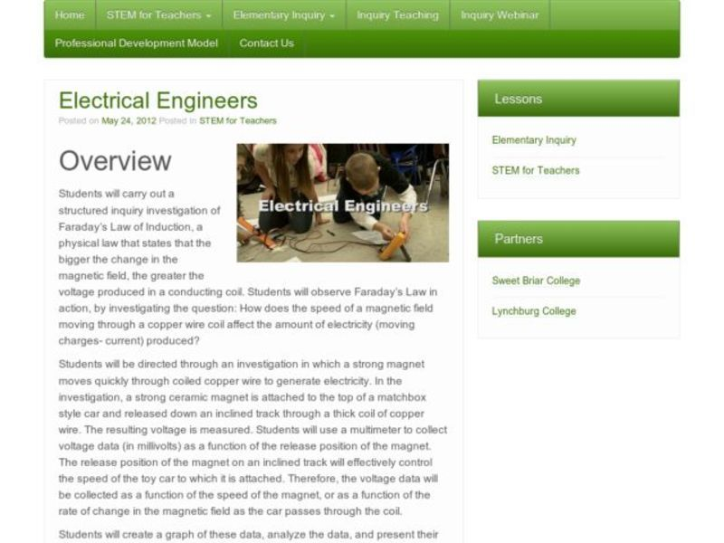 Electrical Engineers Lesson Plan