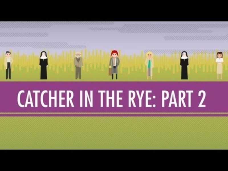 Holden, JD, and the Red Cap- The Catcher in the Rye Part 2 Video
