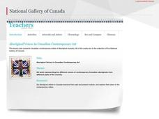 Aboriginal Voices in Canadian Contemporary Art Lesson Plan