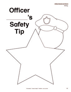 Safety Tip Printables & Template