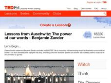 Lessons from Auschwitz: The Power of Our Words Lesson Plan