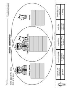 Terrific Teamwork! Kindergarten - 2nd Grade Worksheet | Lesson Planet