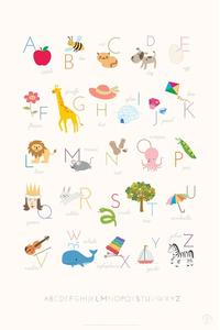 Printable Alphabet Poster Printables & Template