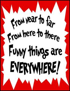 Dr. Seuss Quote Poster Printables & Template