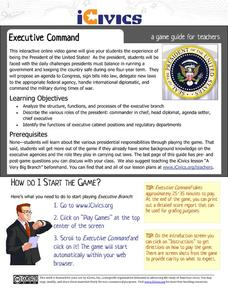 The Executive Command Activities & Project