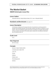 Market Basket SMART/ActivInspire Lesson Plan Lesson Plan
