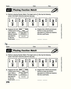 Fractions Decimals and Percents Worksheet