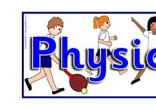 Physical Education Banner Printables & Template