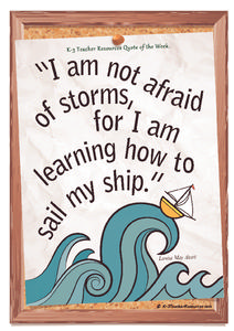 Learning How To Sail My Ship Quote Printables & Template