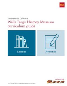 Wells Fargo History Museum: Curriculum Guide Unit