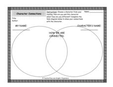 Character Connections Graphic Organizer