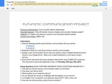 Futuristic Communication Project Activities & Project
