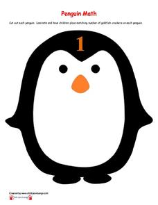 Penguin Man Printables & Template