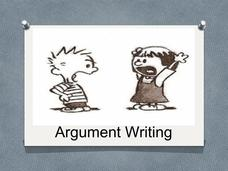 Argument Writing Presentation