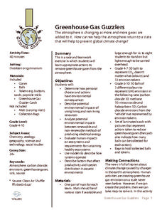 Greenhouse Gas Guzzlers Activities & Project