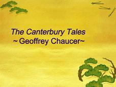 Canterbury Tales Introduction Presentation