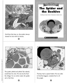 Folk and Fairy Tale Readers: The Spider and the Beehive Printables & Template