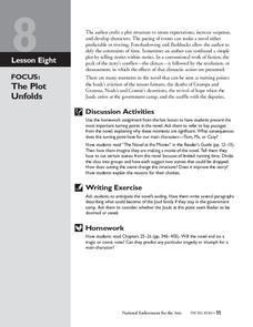The Grapes of Wrath: The Plot Unfolds Lesson Plan