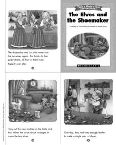 Folk and Fairy Tale Readers: The Elves and the Shoemaker Printables & Template