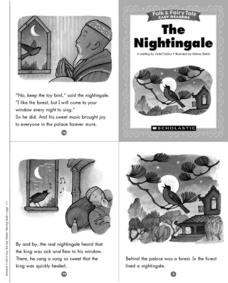 Folk and Fairy Tale Readers: The Nightingale Printables & Template