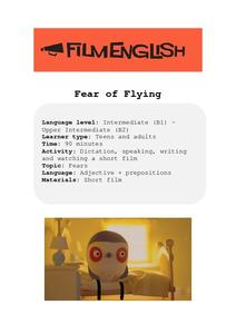 Fear of Flying Lesson Plan
