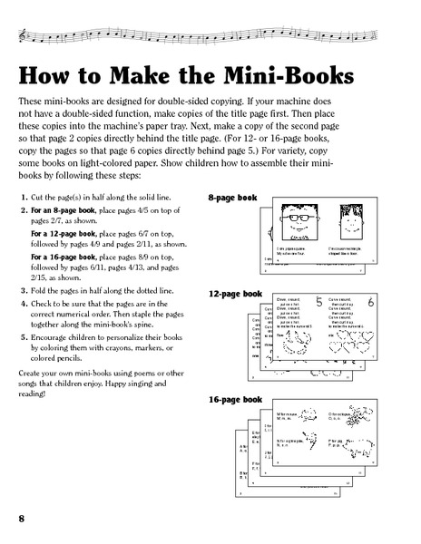 Teddy Bear Mini Book Printables & Template
