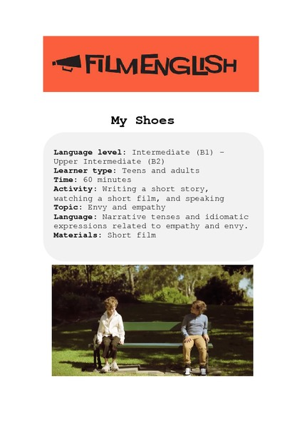 My Shoes Lesson Plan