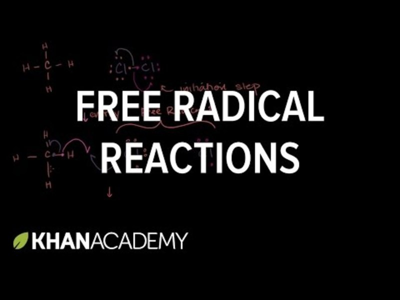 Free Radical Reactions Video