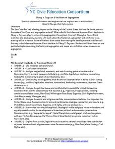 Plessy v. Ferguson & the Roots of Segregation Lesson Plan
