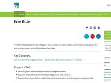 Free Ride Lesson Plan