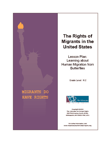 The Rights of Migrants in the United States Lesson Plan
