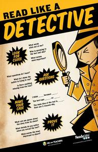 Read Like a Detective Printables & Template