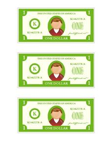 Printable Play Money Printables & Template