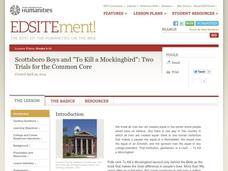 "Scottsboro Boys and ""To Kill a Mockingbird"": Two Trials for the Common Core Lesson Plan"