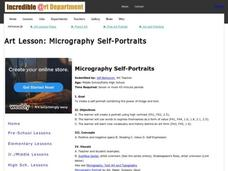 Micrography Self-Portraits Activities & Project
