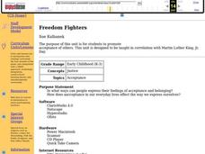 Freedom Fighters Lesson Plan