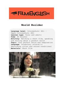 World Builder Lesson Plan