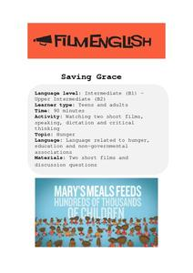 Saving Grace Lesson Plan