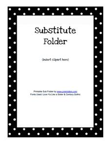 Substitute Teaching Science Lesson Plans Worksheets - Substitute lesson plan template