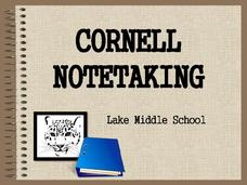 Cornell Notetaking Presentation