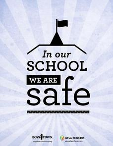 Safe School Poster Printables & Template