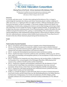African Americans in Revolutionary Times Lesson Plan