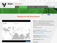 Mapping the Silk Road Activities & Project