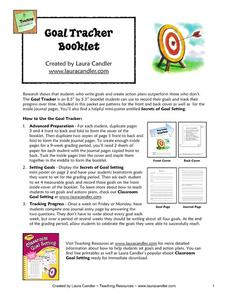 Goal Tracker Booklet Handouts & Reference