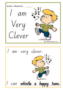 I Am Very Clever Printables & Template